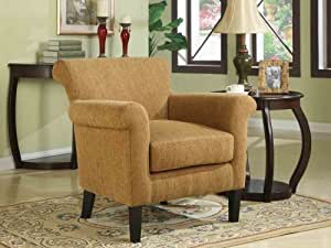 Amazon Furniture Living Room Dana Chair Emerald U301405 17 007E Living