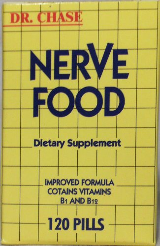 Dr. Chase Nerve Food Dietary Supplement -120'S