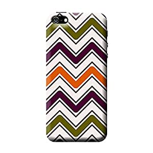 Garmor Check Design Plastic Back Cover For Apple iPhone 5 (Check - 8)