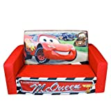 DISNEY CARS FLIP OPEN SOFA - Lightning McQueen & Friends