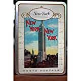 Vintage New York City NYC Postcard set in Keepsake Tin Cavallini