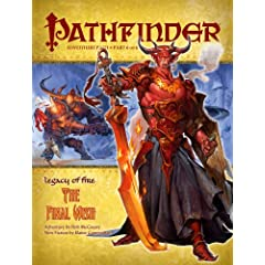 Pathfinder Adventure Path: Legacy of Fire #6 - The Final Wish by Rob McCreary and Elaine Cunningham