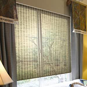 Coolaroo interior cordless shade flax 48 x - Coolaroo exterior retractable window shades ...