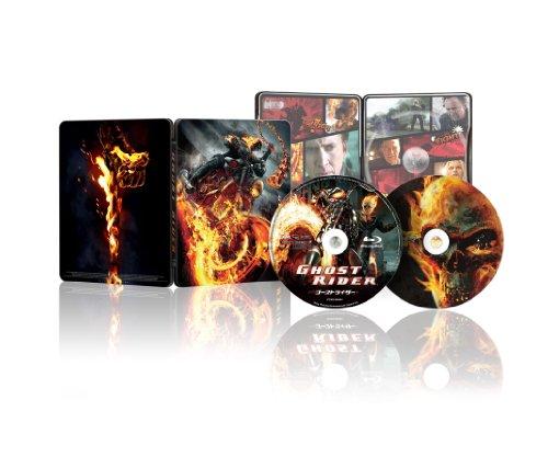 ゴーストライダー 1&2スペシャルツインパック (Blu-ray2枚組)(スチールケース仕様)[数量限定生産] -