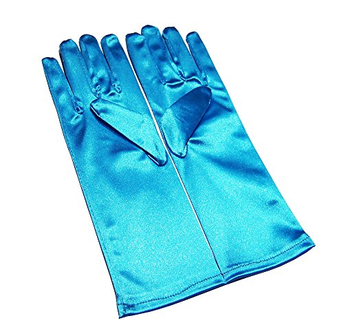 Children Anime Ice Princess Frozen Snow Queen Elsa Party Cosplay Costume Gloves