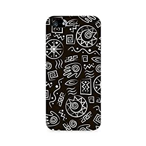 NXT GEN Primitive Symbols Premium Printed Mobile Back Case For Apple iPhone 5/5s