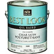 - W54F00706-16 Best Look Polyurethane-INT SATIN POLYURETHANE