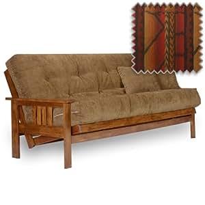 stanford futon set queen size frame