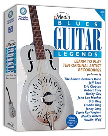 eMedia Blues Guitar Legends Win/Mac