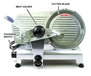 "New Commercial Heavy Duty 12"" Electric Meat Deli Slicer"
