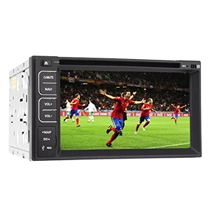 "Pupug 2014 Hot Model Double 2 Din Dash 6.2 ""LCD tactile de l'šŠcran de voitures radio stšŠršŠo Bluetooth DVD Player Mp3 Mic SD USB RDS numšŠrique HD LCD: 800 * 480 commande au volant Prix le plu"