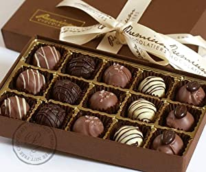 Chocolate Truffle Collection - Gluten Free, Milk Free, Egg Free- 30 Pieces by Premium Chocolatiers