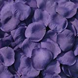 Purple Silk Rose Petals ~ 200 Petals