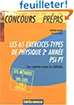Les 65 exercices-types de Physique 2e...