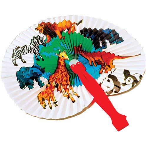 Animal Folding Fans