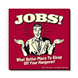 bCreative Jobs What Better Place To Sleep Off Your Hangover! (Officially Licensed) Fridge Magnet