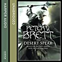 The Desert Spear: The Demon Cycle, Book 2 Audiobook by Peter V. Brett Narrated by Colin Mace