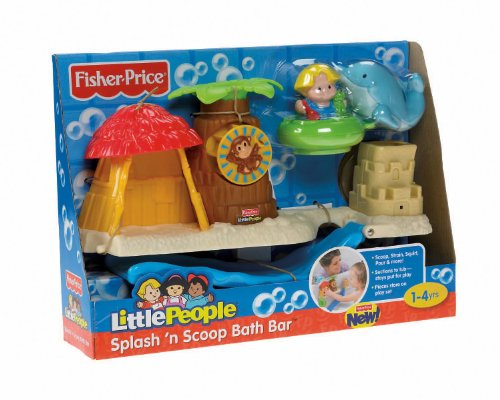 Fisher-Price Little People Splash 'n Scoop Bath Bar at Sears.com