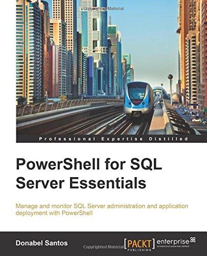 PowerShell for SQL Server Essentials