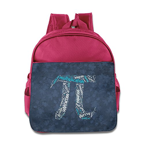 School Math Pi Pink One Size Children School Backpacks (Transformer Sun Shade compare prices)