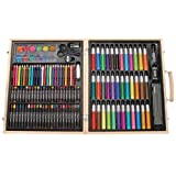 131 pc Portable Art Kit