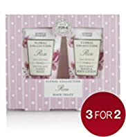 Floral Collection Rose Mini Gift Set