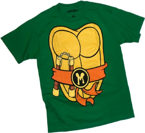 Michaelangelo Costume -- Teenage Mutant Ninja Turtles T-Shirt