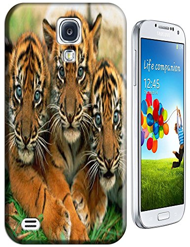 Lovely Power Tigers Cases Covers Phone Hard Back Cases Beautiful Nice Cute Animal Hot Selling Cell Phone Cases For Samsung Galaxy S4 I9500 # 9