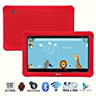 Contixo Kids Q105 10.1 Quad Core Android 4.4 Kitkat Multi-Touch Screen Tablet PC, HD Display 1024x600, 1GB RAM, 16GB Nand Flash, Dual Camera, WiFi, Bluetooth, Google Play Pre-installed, 3D Game Supported, 2015 New Model