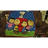 Snoopy Pillow And Throw Set : Amazon.com - Peanuts Spooky Gang Tapestry Throw by The Northwest Company, 46 by 60