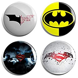Batman Group Fan Badge (Set of 4)