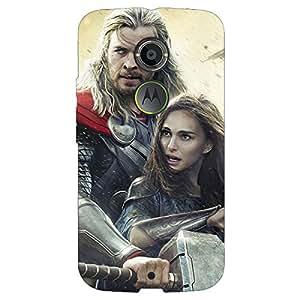 Jugaaduu Thor Back Cover Case For Moto X (2nd Gen)