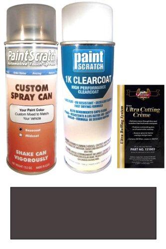 2003 Amg Hummer H1 Black Diamond Metallic B30 Touch Up Paint Spray Can Kit - Original Factory Oem Automotive Paint - Color Match Guaranteed