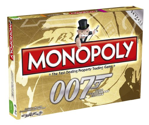 Monopoly 50th Anniversary Edition James Bond