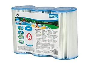 Intex - 3 cartouches de filtration 'A'