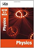img - for Physics (Letts GCSE in a Week Revision Guides) by Caroline Reynolds (2012-07-09) book / textbook / text book