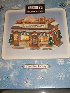 HERSHEY'S HOLIDAY VILLAGE - CHOCOLATE FACTORY - NEW