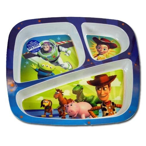 Toy Story Dinnerware Divided Plate.