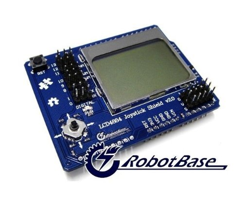 Hobbypower Lcd4884 Joystick Shield V2.0 Lcd Display Module For Arduino Mega2560 Uno R3 Adk