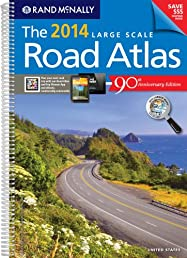 Rand McNally 2014 Large Scale Road Atlas (Rand McNally Large Scale Road Atlas U. S. A.)