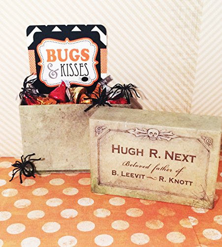 'Bugs and Kisses' Halloween Candy Chocolate Hershey