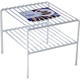 Organized Living Large Double Cabinet Shelf - White
