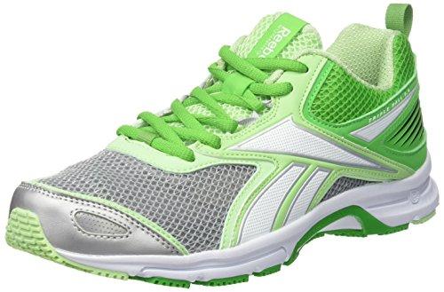Reebok Triplehall 5.0 V68180 Scarpe Running Donna, Colore: Bianco / Verde Grigio (36)