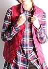 (クローズトラック)CLOTHES TRUCK ダウンベスト レディース / インナーベスト キルティング zip 軽量 デザイン (08)ピンク L