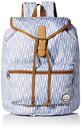 Roxy Junior's Driftwood Polyester Backpack, Ikat Chevron Seaspray, One Size