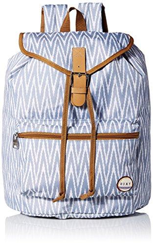 Roxy Junior's Driftwood Polyester Backpack, Ikat Chevron Seaspray, One Size