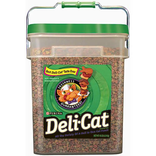 Image of Purina Deli-Cat Cat Food - 10 lb. pail