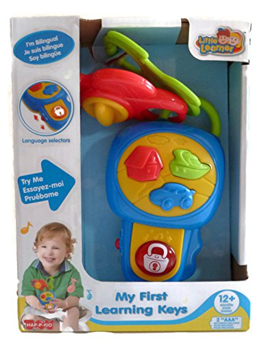 Playgo My First Learning Keys (Bilingual) front-388923