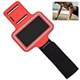 OFTEN Adjustable Armband For Samsung Galaxy S3 S4 S5 i9300 i9500 i9600 Gym Running Sports Case Cover Holder Jogging (Red)
