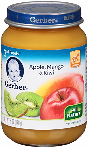 Gerber 3Rd Foods, Apple, Mango, Kiwi, 6-Ounce (Pack Of 12) front-262195